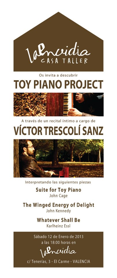 Toy piano project Trescolí