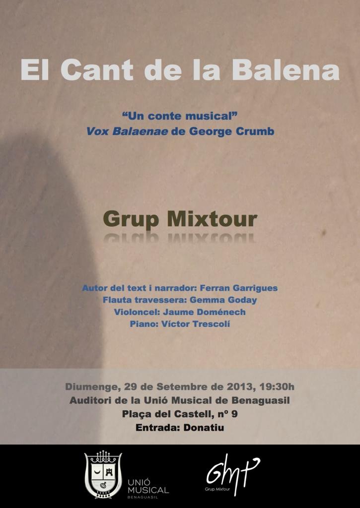 El Cant de la Balena - Grup Mixtour