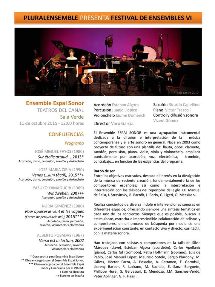 Espai sonor Madrid 2015 1