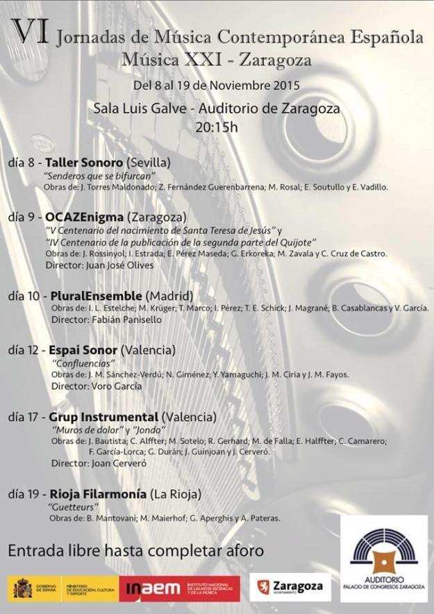 Espai Sonor Zaragoza 2015
