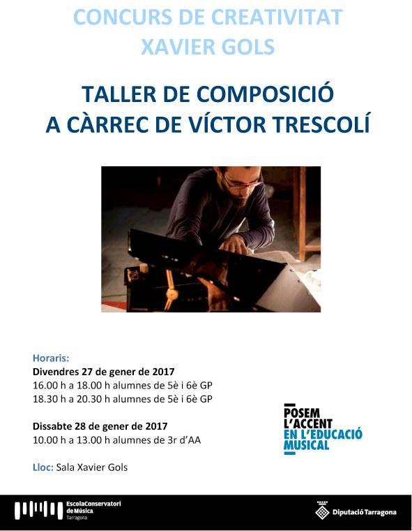 Taller Composició Víctor Trescolí